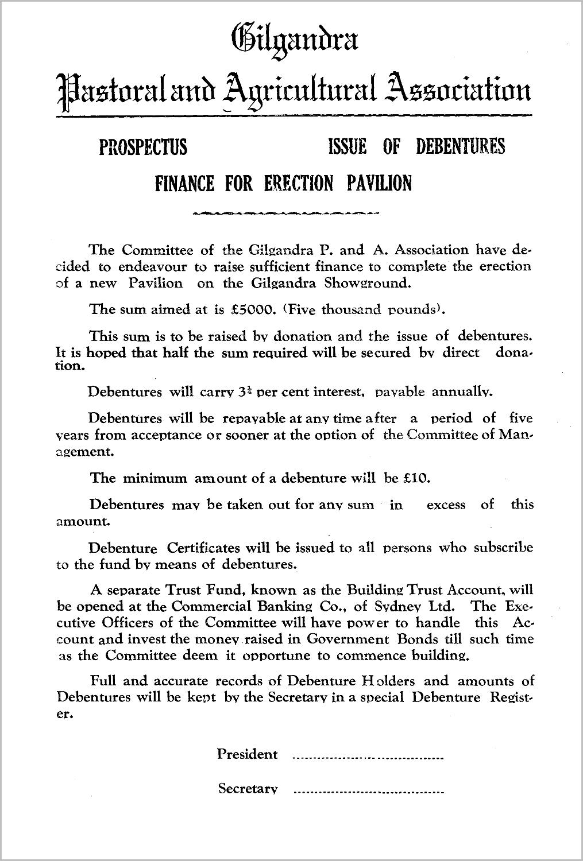 1951 Pavilion Prospectus